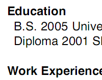Eric Wendelin job resume